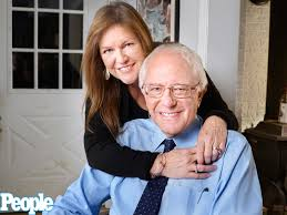 bernie and wife